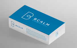 photo of bcalm packaging